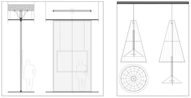datos concepto material mobiliario para contenidos del museo