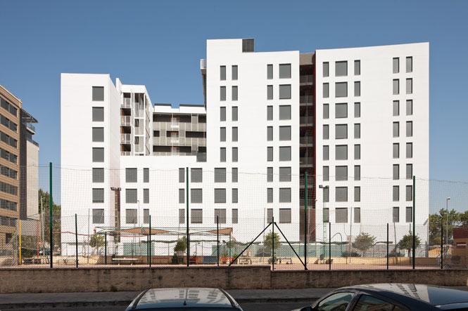 Cayuelas arquitectos urbanizaci n campus de linares for Fernando porras arquitecto