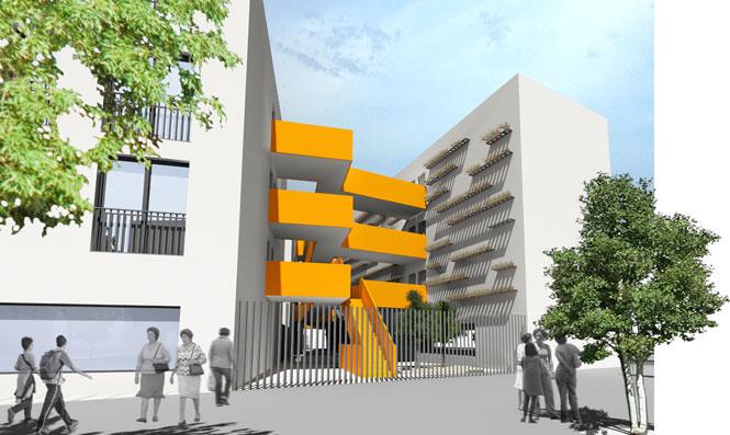 Cayuelas arquitectos viviendas para j venes en c rdoba - Arquitectos en cordoba ...